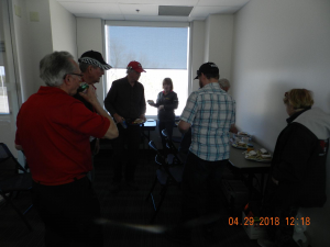Tower opening & Meeting April 29, 2018